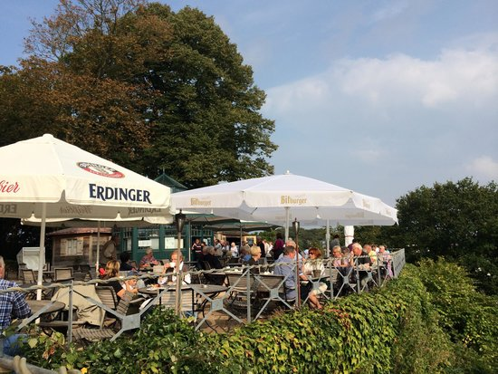 Deck 7 Market Restaurant: Ausblick Süllberg Terrasse