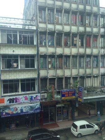 Central Hotel Sandakan: View.