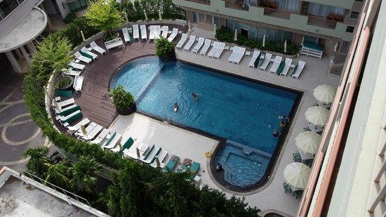 Long Beach Cha-am Hotel: Vu de notre chambre