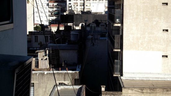 Victory Hotel: vista pela janela