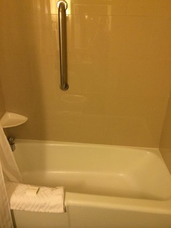 DoubleTree by Hilton Los Angeles Westside: Baignoire
