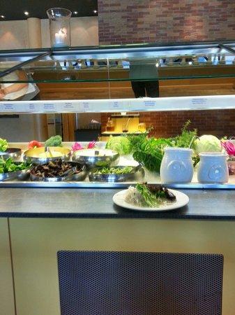 Han Mongolian Barbecue : Buffet de salades