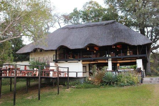 Waterberry Zambezi Lodge: Waterberry main lodge