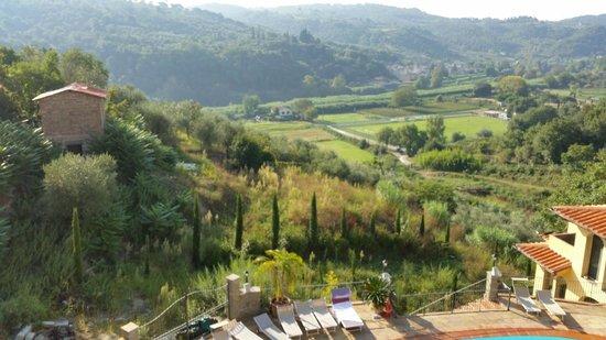Villa La Malva : verso la valle
