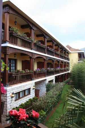 Victoria Sapa Resort and Spa: vista da una delle camere
