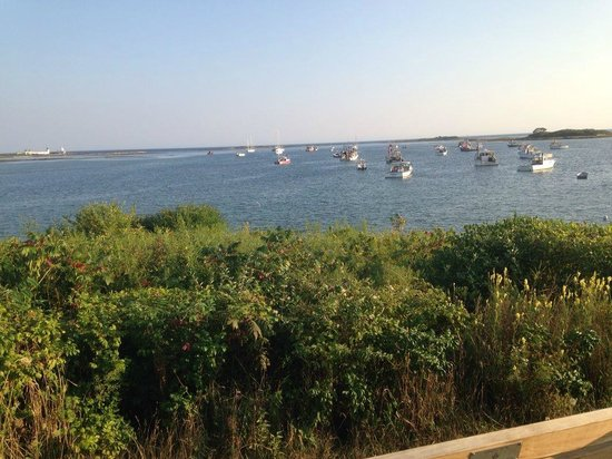 Cape Porpoise Chowder House: view from the Pier opposite the restaurant