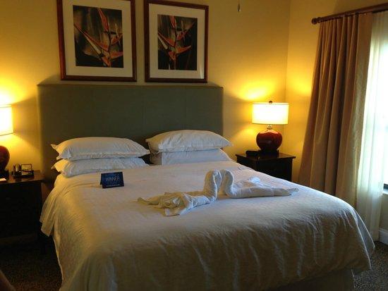 Sheraton Vistana Resort Villas- Lake Buena Vista: The room (we got a suite)