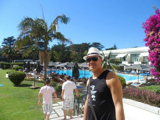 Palacio Estoril Hotel, Golf and Spa: Area da piscina