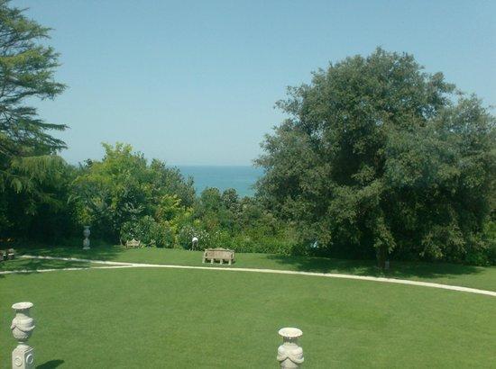 Villa Lattanzi: Panorama dalla camera deluxe al 1° piano