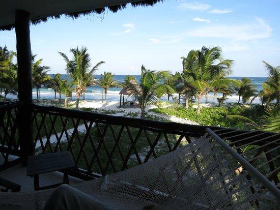 Los Lirios Hotel Cabanas: Vista dalla camera