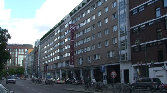 Hotel Crowne Plaza Berlin City Centre : Hotel