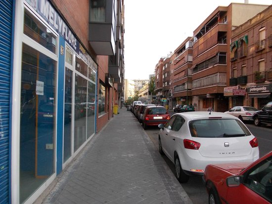 Rafaelhoteles Ventas: Alcala during busy hours