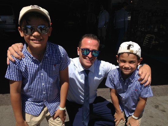 Italy Limousine: Danilo and My Kids