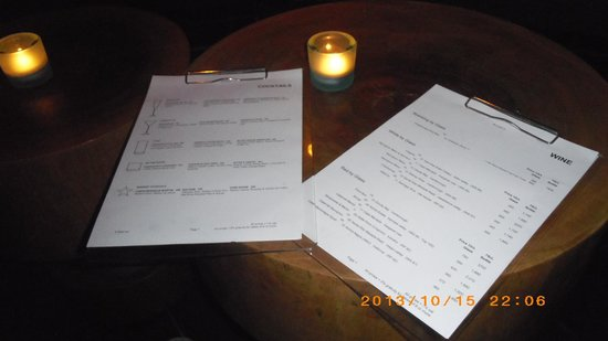 Eat Me Restaurant: Wine List