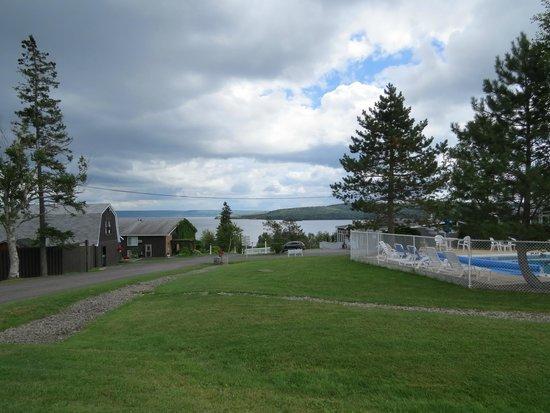 MacNeil House: Seasonal Pool Maintenance Buildings added since 93