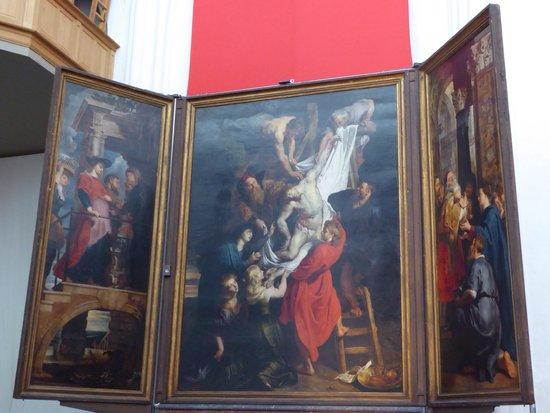 Liebfrauenkathedrale (Onze-Lieve-Vrouwekathedraal): ルーベンス、キリストの降架。