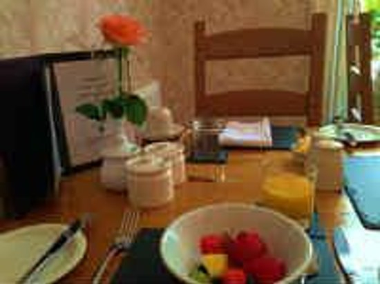 Caer Menai Guest House / Bed and Breakfast : 朝食スターター