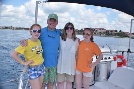Catamaya Sailing Cruises: My family enjoying a great day in Mexico