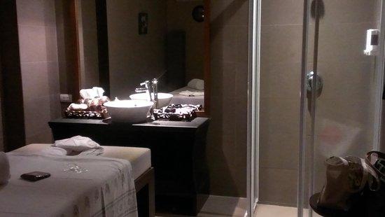 Massage Before Shower