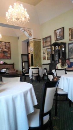 Hotel Praga 1885: ресторан