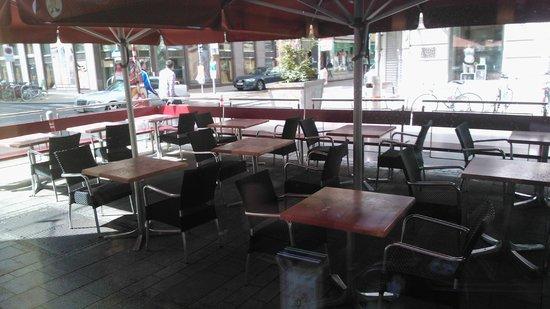 Maschu Maschu: Nice patio