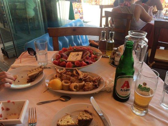 Me Nou & Krasi: Lunch