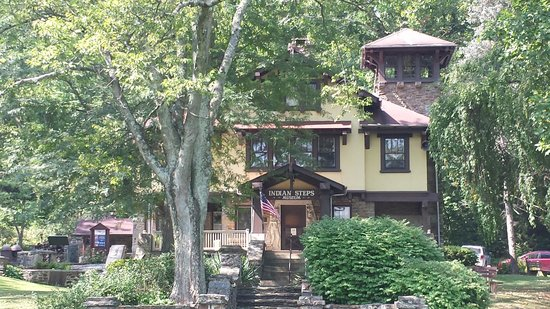 Indian Steps Museum: The museum from the river approach