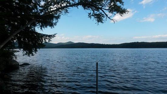 Wilton, ME: Dock view