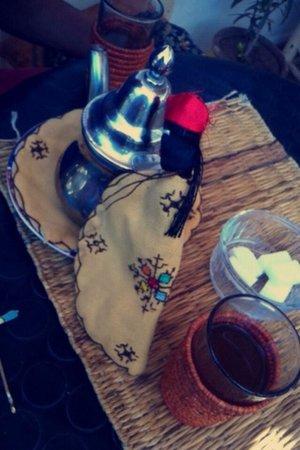 Henna Cafe: Thé