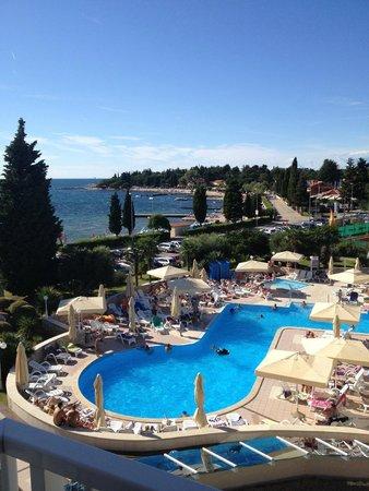 Hotel Park: panorama camera vista mare