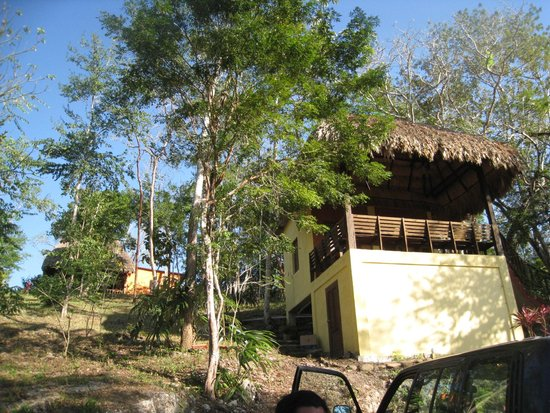 Amber Sunset Jungle Resort: main office/check in area - on top of the hill!