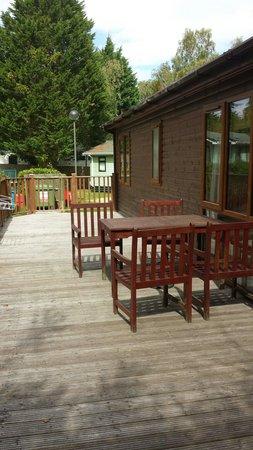Parkdean - Sandford Holiday Park: Huge verrander in this heritage lodge