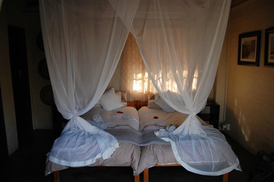 KwaMbili Game Lodge : Room in our lodge
