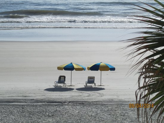 Holiday Inn Resort Daytona Beach Oceanfront: View from the room