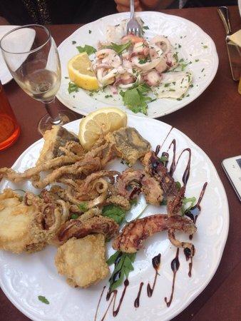 Il Vinacciolo: Buonissima frittura!!