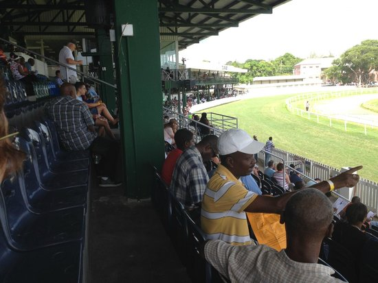 Barbados Turf Club: Grandstand