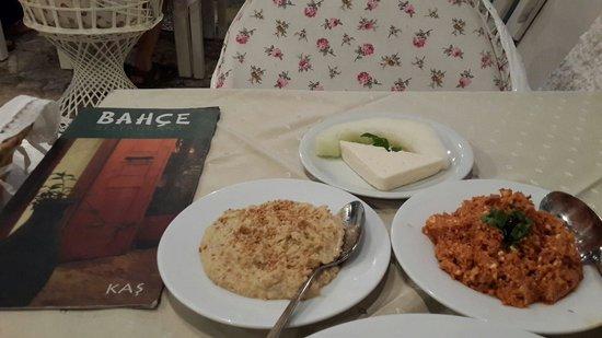 Bahce Restaurant : Muhtesem akdeniz mutfagi lezzeti