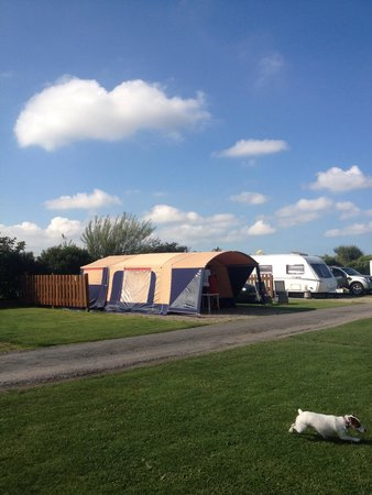 This was our first time at padstow touring park. Very relaxing and helpful site. Made even bette