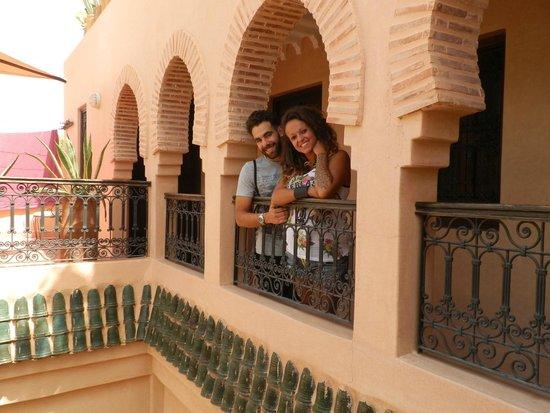 Riad Marrakiss : terrazza