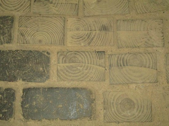 Barbour County Historical Museum: Wooden Bricks