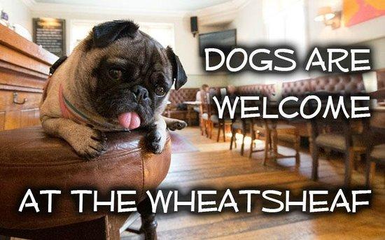 Wheatsheaf Inn: Dogs Welcome