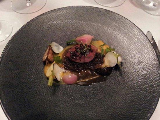 Restaurant Lerbach: Zwischenhauptgang: Turkey Oyster