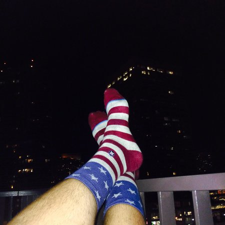 The Westin Harbour Castle, Toronto : Murica in Canada!