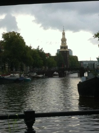 Cafe De Sluyswacht : View from the outdoor area