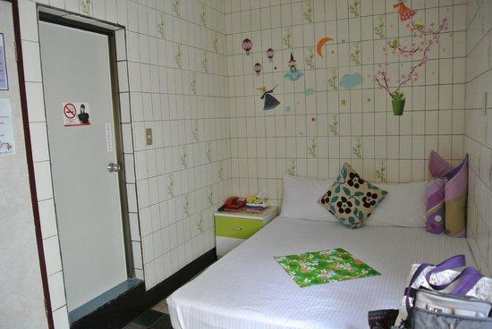 Hsin Hsin Hotel: ファブリックは桐の花の柄
