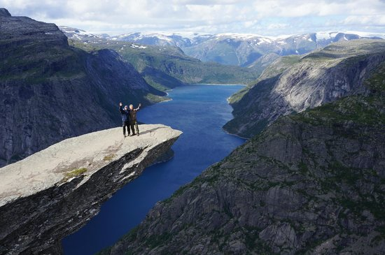 trolltunga adventures reviews guided hike