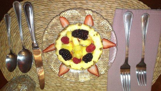 Santa Nella House Bed and Breakfast : Bob's Breakfast Appetizer