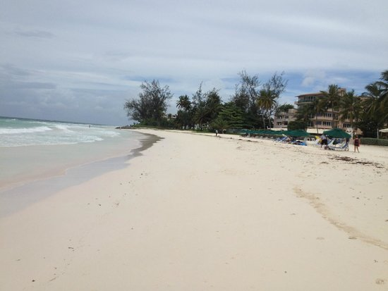Looking North on Rockley Beach Aug 2014