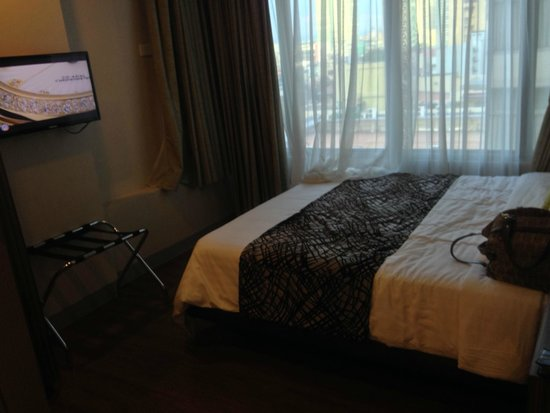 The A.Venue Hotel: one of the bedroom with king sized bed