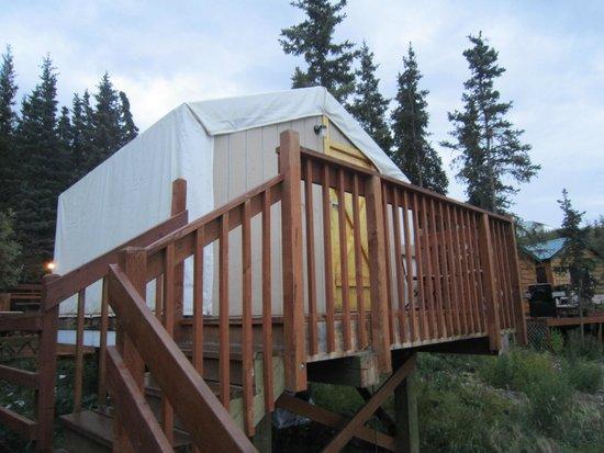 Denali Park Salmon Bake Cabins : Economic cabin
